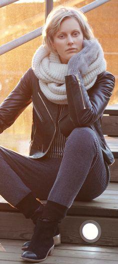 Scandinavian winter wardrobe
