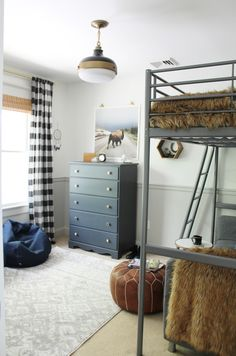 Rustic Tween Boys Room Black Buffalo - Home, Room, Furniture and Garden Design Ideas Big Kids Room, Room Inspiration, Modern Farmhouse Bedroom, Boys Bedrooms, Boys Bedroom Decor, Bedroom Decor, Home Decor, Room, Tween Boy Bedroom