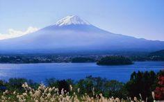 loading ... The beautiful Fuji mountain scenery wallpaper HD . please wait...