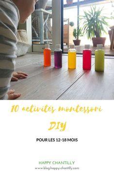 10 activités Montessori 12-18 mois (DIY et pas chères) - Happy Chantilly