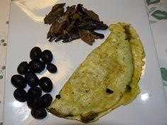 Omelette con Funghi - http://cucinasuditalia.blogspot.it/2008/11/omeletta-con-i-fungni.html