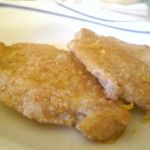Petto di pollo gratinato al limone