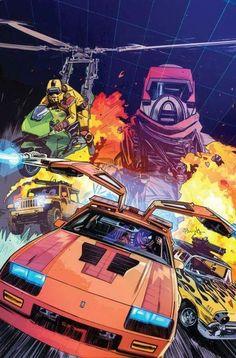 1984 ADVERT Toy A Team Corvette Bad Guys Action Figures Transformers Autobot Car