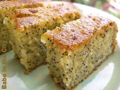 orange poppyseed cake (from donna hay's recipe)
