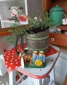 unique container gardening ideas 2