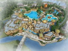 Liudong Tourism Zone, #Guangxi, #China - #ThemePark, #WaterPark, #entertainment, #IdeAttack