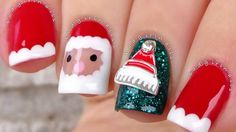 ❄ CHRISTMAS NAIL ART 2017 ❄ CHRISTMAS NAIL TUTORIAL COMPILATION ❄ PART 2 ❄ Christmas Nail Art, Nail Tutorials, Winter Nails, Beauty, Design, Nail Art Tutorials, Beauty Illustration