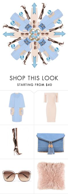 """""""Kaleidoscope"""" by mojekontoat ❤ liked on Polyvore featuring Fendi, Helmut Lang, Urban Expressions, Chloé and Surya"""
