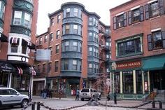 North End- I lived on the 3rd floor with the bay windows... miss that place!!