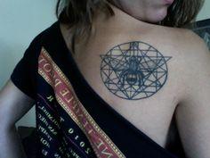 the sacred geometry of the bee tattoo