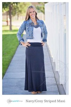 This maxi skirt is the perfect addition to your Fall wardrobe. The ultimate in comfort and style! Dress it up for a night out or keep it casual for everyday. $14.99