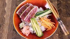Clinton Kelly's Seared Tuna Rice Bowl