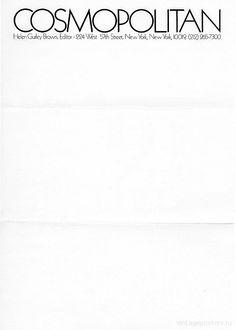 От Уитни к Уорхоллу: личные бланки для писем - Винтажные Постеры