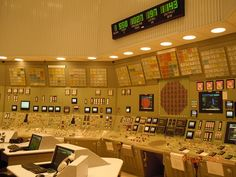 Civil Engineering Photos » Nuclear Power Plant Control Panel