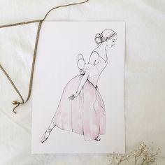 Cordelia in Blush (on White background)