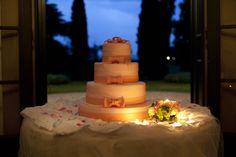 Luce soffusa | torta matrimonio