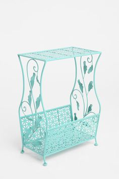 Flourish storage side table.  Another item to add to my Tiffany Blue room I hope to have someday!