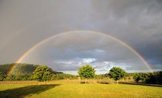 Rainbow over Denbies (Photo: Andy Newbold) Surrey, Maine, Country Roads, Rainbow, Gallery, Places, Rain Bow, Rainbows, Lugares