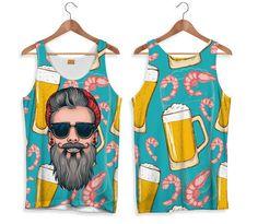 Fishikii Hipster Tank-Top for Women Shirt Jacket, T Shirt, Men Beach, Bermuda, Mens Tees, Custom Clothes, Creative Design, Printed Shirts, Organic Cotton