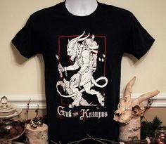 krampus Tshirt and skull