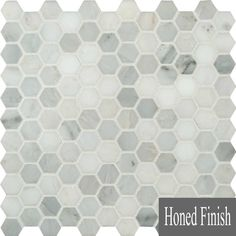 Discount Glass Tile Store - Carrara Marble Hexagon Mosaic  (Honed Finish)  $9.97 sq.ft , $9.97 (http://www.discountglasstilestore.com/carrara-marble-hexagon-mosaic-honed-finish-9-97-sq-ft/)