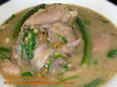 Munggo with Pork Pata