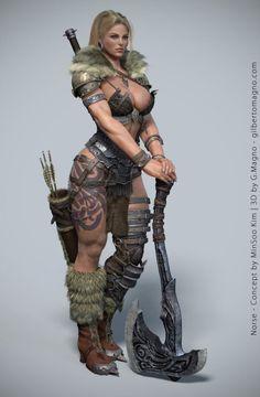 Barbare viking