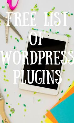 Sign up + receive a free list of my favorite WordPress Plugins delivered directly to your inbox.