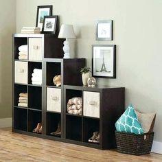 Cube Storage Decor Bedroom Home Office Ideas Cube Storage Shelves, Ikea Storage, Wall Storage, Bedroom Storage, Bedroom Decor, Kitchen Storage, Food Storage, Storage Cubes, Storage Units