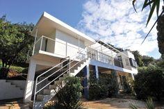 villa e-1027, conçue par Eileen Gray en 1926, Cap moderne. Roquebrune Cap martin.