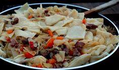 Gęsie łapki. Przepyszne ciasteczka twarogowe - Przepis - WP Kuchnia Ricotta, Mozzarella, Pesto, Potato Salad, Cabbage, Grains, Potatoes, Rice, Vegetables