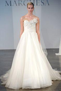 Breathtakingly Beautiful Marchesa Wedding Dresses 2014 Collection. http://www.modwedding.com/2014/02/02/marchesa-wedding-dresses-2014-collection/ #wedding #weddings #fashion