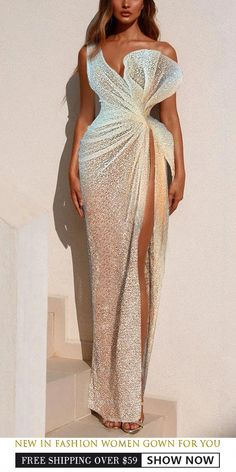 Fashion evening &wedding dresses for women good choice for party beautiful des Glam Dresses, Event Dresses, Couture Dresses, Pretty Dresses, Beautiful Dresses, Prom Outfits, Mode Outfits, Fashion Outfits, Dress Fashion