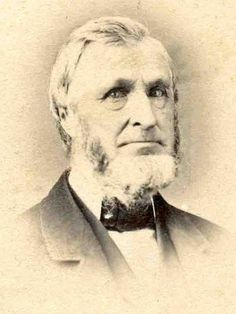 CDV from the 1860s of Cornelius M. Demarest (1803-1899)