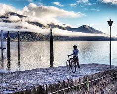 Lake Como in Switzerland . Photo by @maryywilke . #LakeComo #bicycle #bicicleta #cyclist #cycle #strava #ciclismo #fixie #roadcycling #fixedgear #cyclingphotos #stravacycling #bici #campagnolo #cyclingshots #bicicleta #cyclinglife #outsideisfree #stravaphoto #garmin #rapha #igerscycling #fahrrad #velo #bicicletta #ciclista #bisiklet #peloton #triathlon #lovemybike