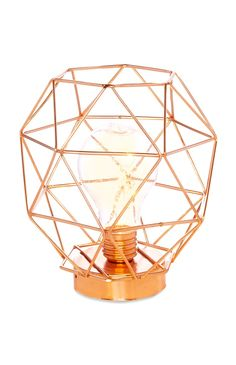 Primark - Copper Standing Frame Light