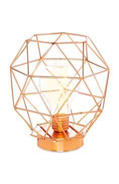 Primark - Copper Standing Frame Light