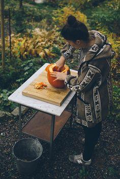 {<3} Halloween pumpkin by Babes in Boyland