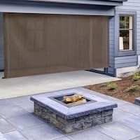 Buy Outdoor Window Treatments Online at Overstock | Our Best Outdoor Decor Deals Easy Backyard, Outdoor Decor, Led Wall Lights, Decor Deals, Modern Landscaping, Outdoor Lighting, Patio Store, Exterior, Solar Shades