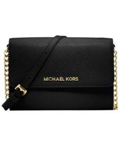 471b45f8b338b6 MICHAEL Michael Kors Jet Set Crossbody & Reviews - Handbags & Accessories -  Macy's