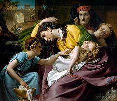 """François-Joseph Navez """"Le Massacre des Innocents"""" 1824"""