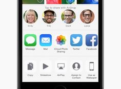Share Photos, Ios 8, Iphone 6, Apple, Messages, Holidays, Learning, Tips, Apple Fruit