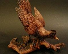 Barn Owl Wood Carving Spying by DittoGalleries on Etsy