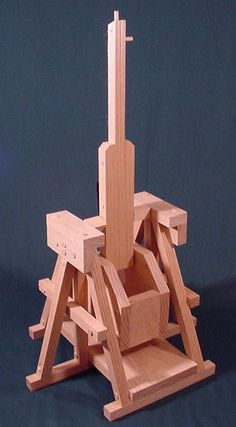 Trebuchet Plans Build A Working Model Da Vinci Trebuchet Catapult With…