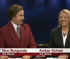 Video: Ron Burgundy Does The News In North Dakota