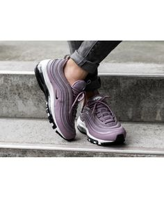 brand new 9960e b2a54 Nike Air Max 97 Trainers In Taupe Grey Black Trainer Shoes, Designer  Trainers, Grey