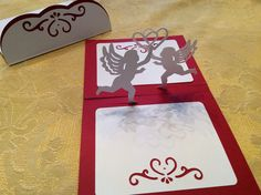 Papercrafts and other fun things: A Pretty Cupid Pop-Up Card With An Envelope for Valentine's Day
