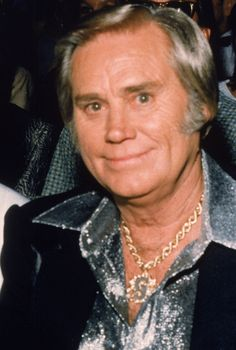Country Star George Jones. Loved his music and I get nostalgia when I hear his music. Definitely a musical legend!