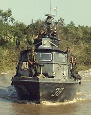 U.S. Navy Inshore Patrol Craft PCF-38 Vietnam War Assault Boat Photo Picture