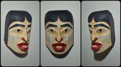 Beauty within North Coast, West Coast, John Wilson, Tlingit, First Nations, Pacific Northwest, Helmets, Nativity, Native American